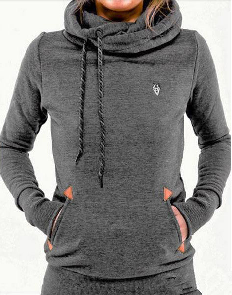 Women's Slim Long Sleeve Pullover Sweatshirt- DISCOUNTED SHIPPING!