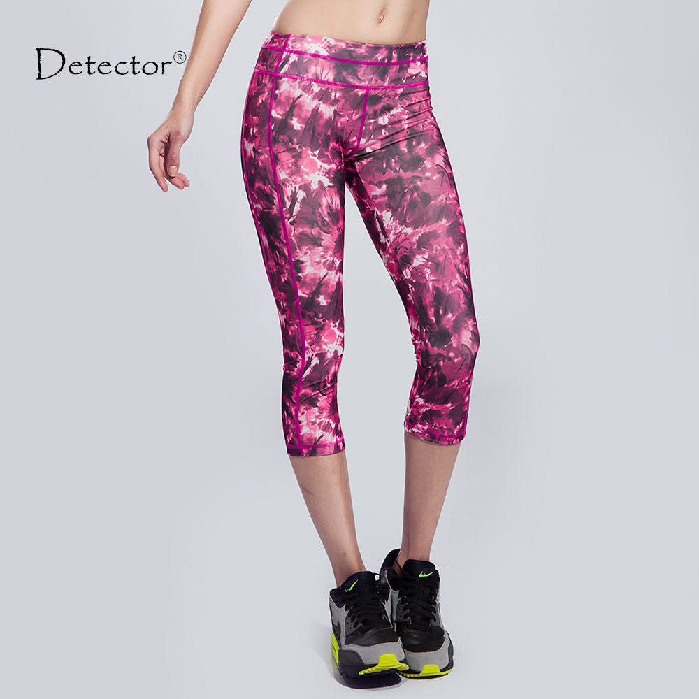 NEW! Women's Sportswear Slimming Yoga Pant Legging Capris