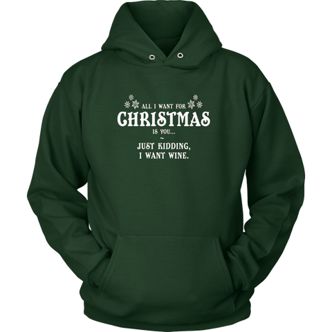 All I Want For X-Mas Is You Hoodie