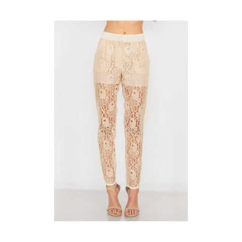All About That Lace Pants LAVELIQ.