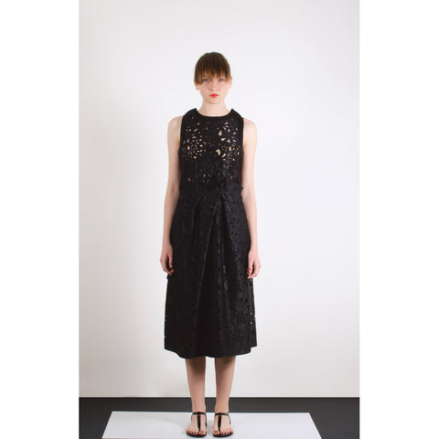 Areo laser cut dress