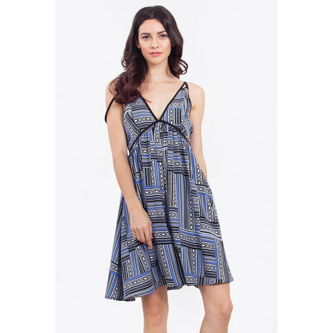 Allie Aztec Midi Dress LAVELIQ.