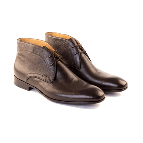 AMATO - Chukka Boot In Dark Brown Grain