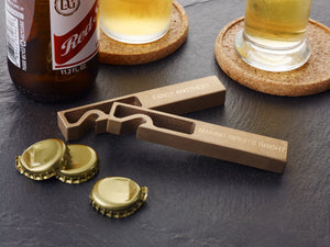 Fancy Brass Bottle Opener