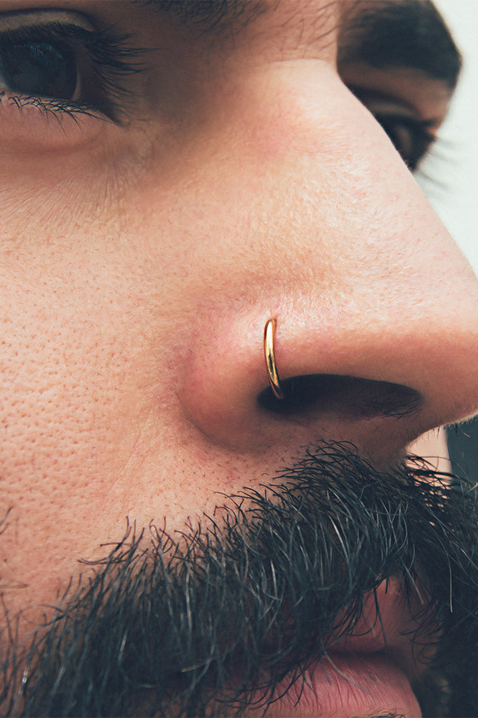 Nose Ring 14k Yellow Gold