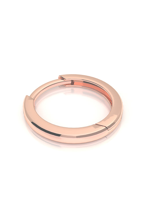 Endless Huggie 14k Rose Gold