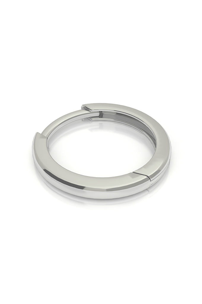 Endless Huggie 14k White Gold