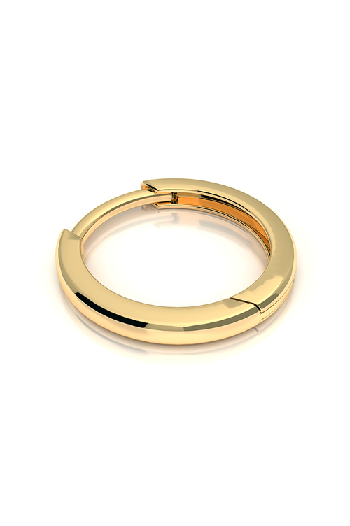 Endless Huggie 14k Yellow Gold