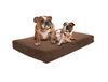 "Premium Dog Beds - GEL Orthopedic Memory Foam - 100% Made in USA - Luxury Washable Pet Bed - XX-LARGE 55""x37""x4.5"""