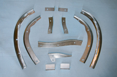 Complete Bonnet Flange Set - Series 3 V-12