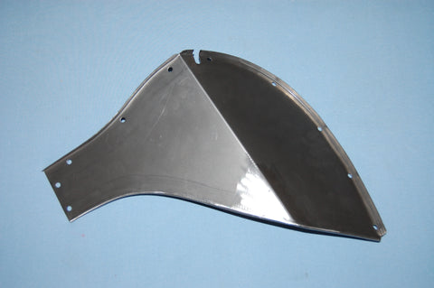Bonnet Rear Mudshield - BD16381 - RH