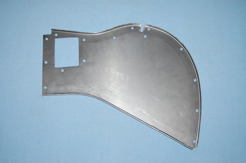 Bonnet Rear Mudshield - BD16382 - LH