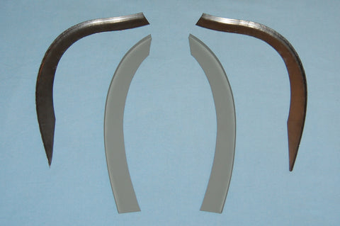 Rear Wheel Arch - Roadster - Seal Retainer Set