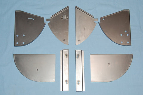 Complete Sill Closing Panel Kit - All 8 pieces
