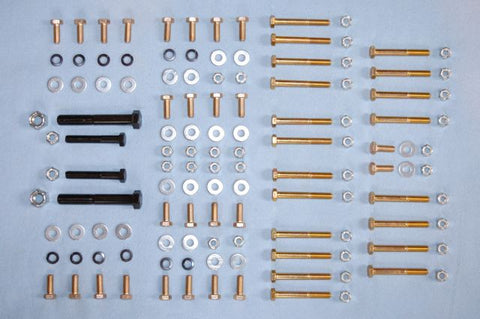 E-Type Bolt Kit - Engine Frame Rails - 6-cylinder