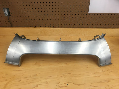 Rear Lower Tonneau Panel - BD19340/4 - FHC - EARLY STYLE (1961-62)