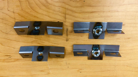 Bonnet Bumper Brackets - Series 1 - Set of 4