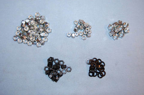 E-Type Bolt Kit - Fine Thread Locknut Assortment