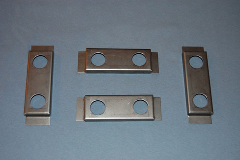 Bonnet Lower Valance - Caged Plate Retainers - Set of 4