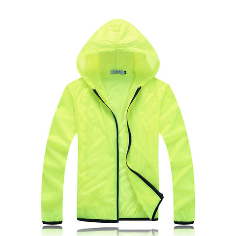 Unisex Casual Hooded Waterproof Quick-Drying Light Windbreaker Coats Hoodies & Sweatshirts - Vut Store