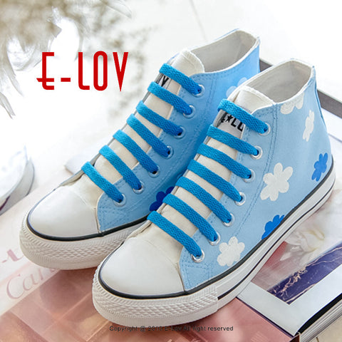 Fashion Men's Canvas Shoes of Creative Hand Painted High Casual Shoes Diy Valentine Gifts Shoes-Shoes-VutStore