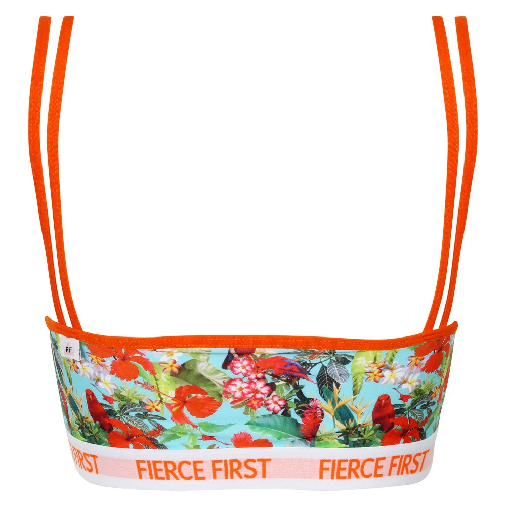 Brave Strappy Crop Top by Fierce First