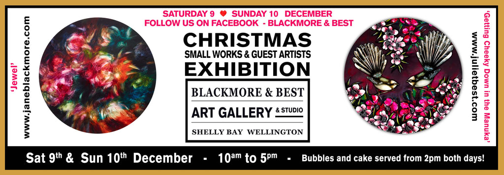 Blackmore & Best - Christmas Exhibition - 9 & 10 December 2017