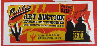 Pablos Art Auction 2016 - 2 November 2016