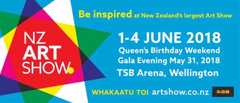 The NZ Art Show - 1 to 4 June 2018, TSB Arena Wellington