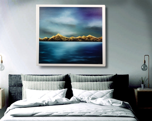 Tuapōkere - Mountain Skies - SOLD