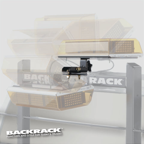 BACKRACK™ - Light Bracket - Mini-Lightbar - Folding - FleetWorks