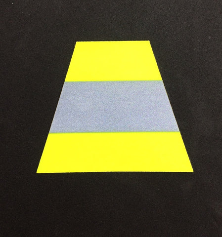 Triple Trim Trapezoid Decal