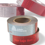DOT-C2 Approved Conspicuity Tape with Custom Logo - FleetWorks