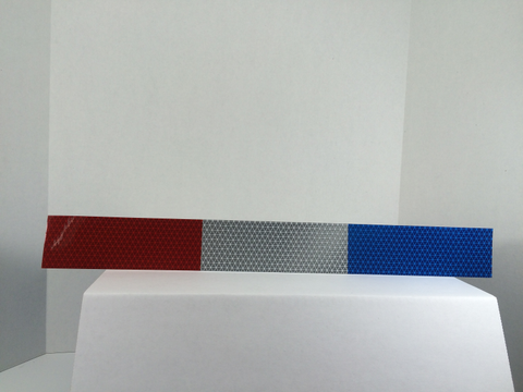 Red/Blue Conspicuity Tape - FleetWorks