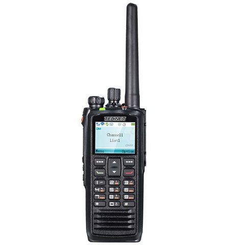 TPD-1000 Portable Radio with Full Color Display - FleetWorks