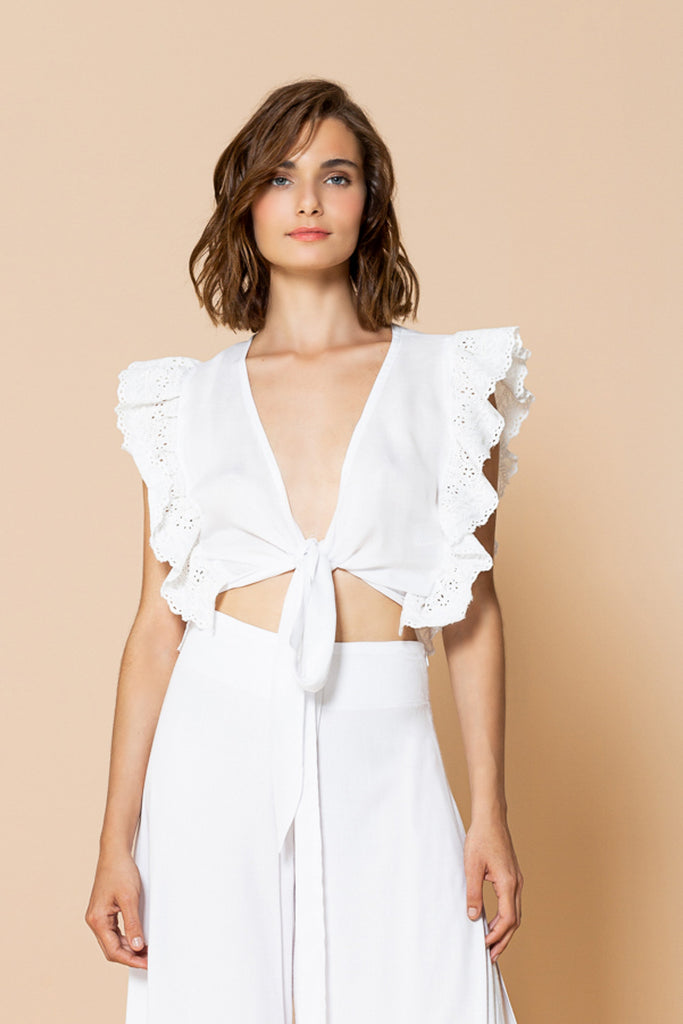 Top Diana OffWhite