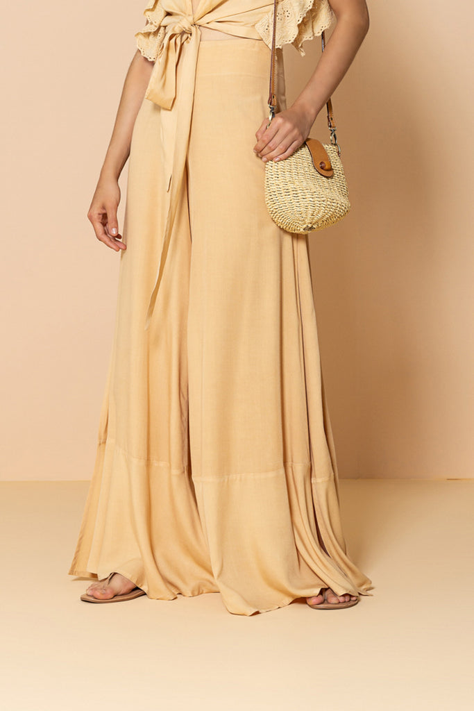 Pant Diana Yellow Sand