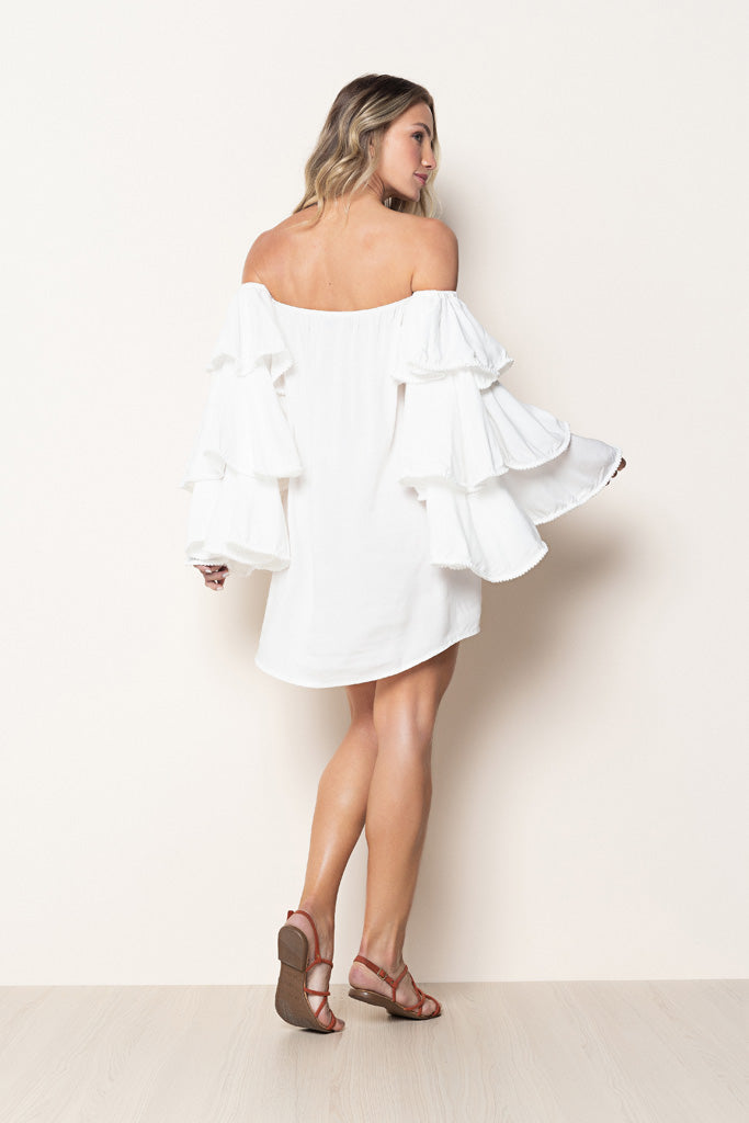 Dress Louise Off White