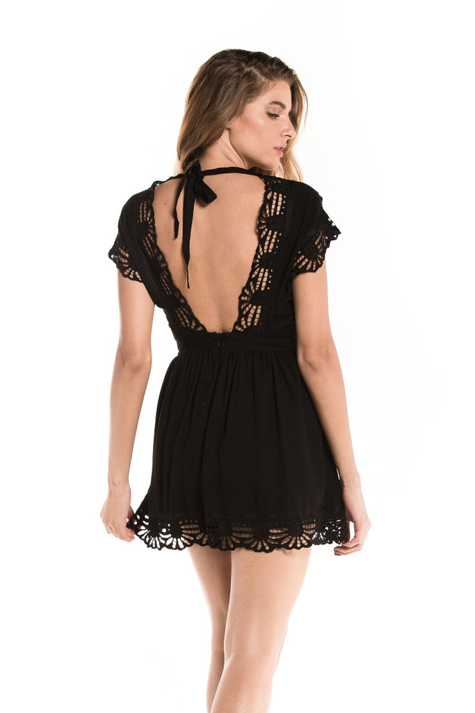 Dress Aloha Black