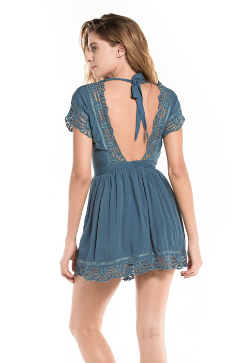 Dress Aloha Blue Stone