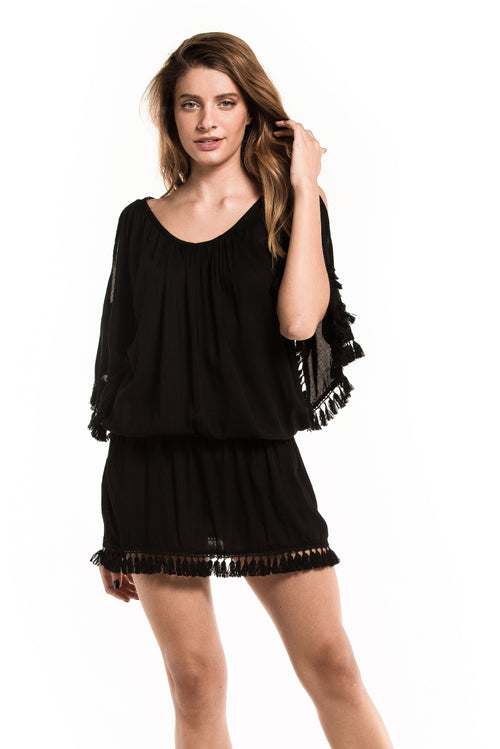 Dress Fringes Black