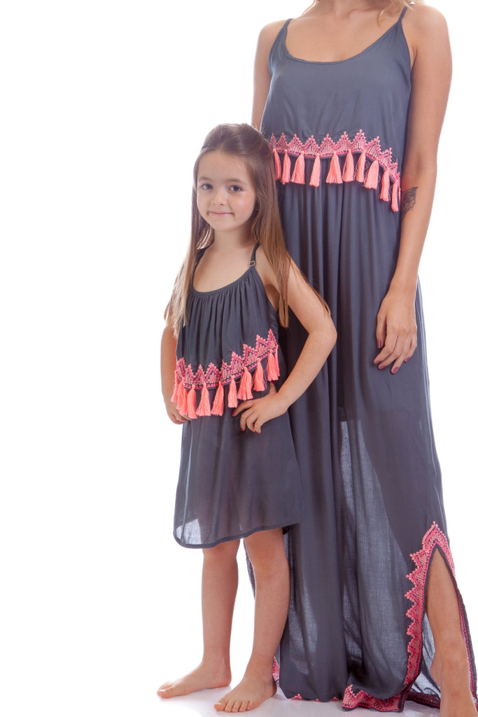 Dress Kids Isis Grey