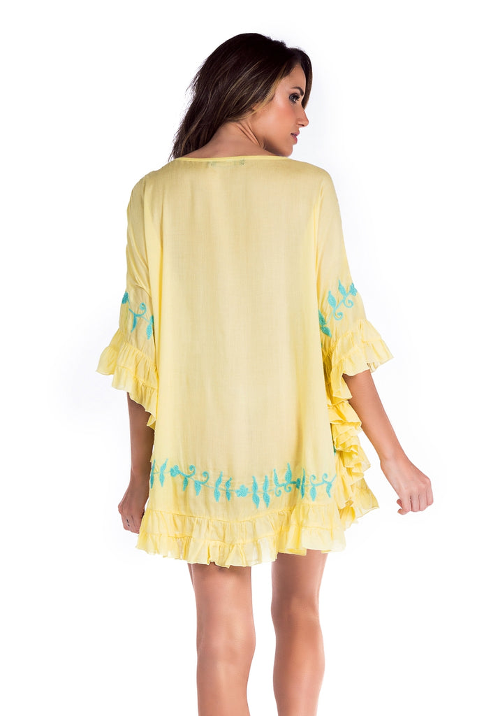 Dress Kirra Light Yellow