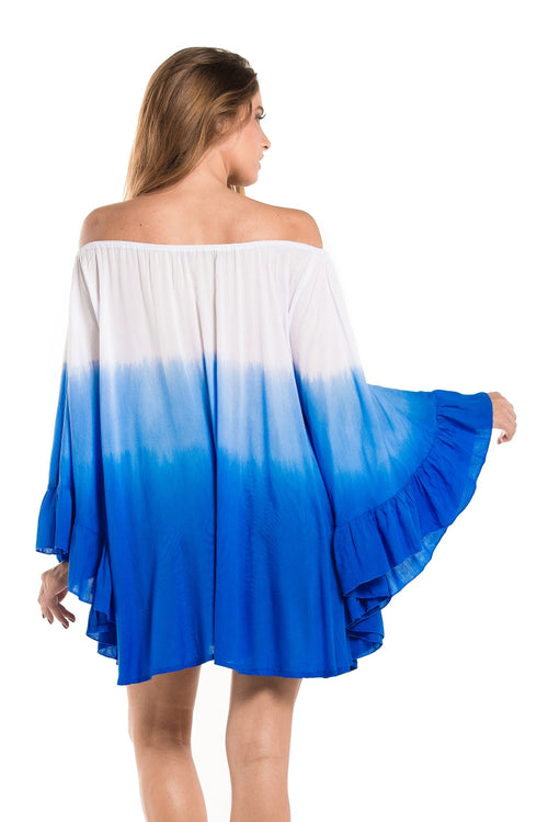 Dress Nathalie Tie Dye Blue