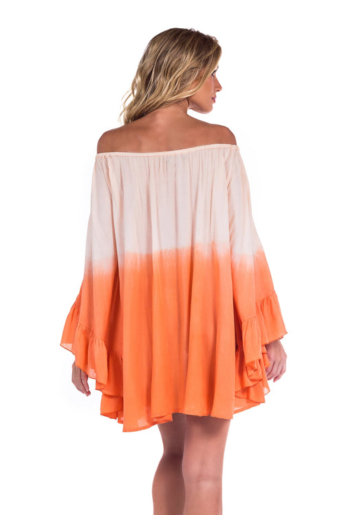 Dress Nathalie Tie Dye Peach