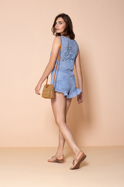 Jumpsuit Sunflower Blue Ice