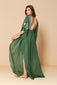 Long Caftan Layla Green Forest