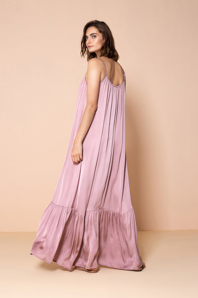 Long Dress Antônia Sweet Rosé