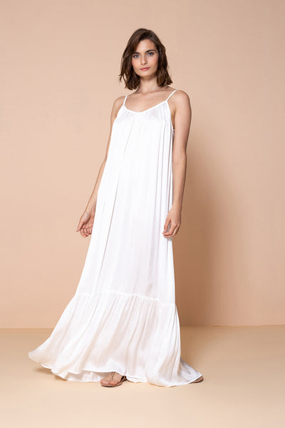 Long Dress Antônia OffWhite