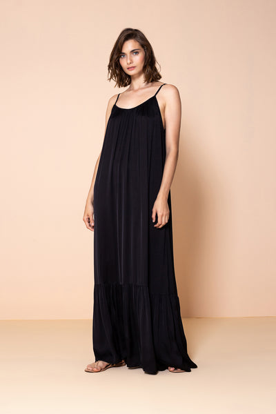 Long Dress Antônia Black